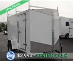 Enclosed 6'x10' Cargo Trailer with Contractor Package