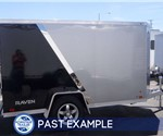 Custom Two-Tone 5'x10' Motorcycle Hauler - Past Example