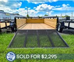 Sure-Trac 6'x12' 3-Board Utility Trailer - Recent Example