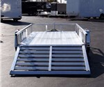 All Aluminum Open Utility Trailer by ATC (6' x 10')