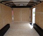 8.5' x 14' White Landscape Trailer