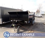 7' x 12' Low Profile Dump Trailer