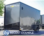 6'x12' Stealth Titan Cargo Trailer Blackout - Recent Example