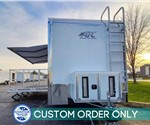 24' Flat Front Experiential Marketing Stage Trailer