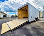 8.5'x20' MTI Round Top Landscape Trailer - Recent Example