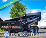 Sure-Trac 7'x14' Heavy Duty Low Profile Dump Trailer