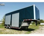 Custom Designed and Built Mobile Marketing Trailer
