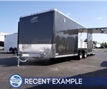 Custom 22' Car Hauler with Premium Escape Door - Example