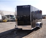 "Custom 7' x 14' Cargo Trailer with a 30"" Wedge Nose"