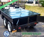 Pizza Trailer or BBQ Trailer Base