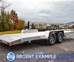 Bear Track 7'x18' Beaver Tail Car Hauler - Recent Example