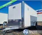 6'x12' ATC Cargo Trailer with Rear Cargo Doors