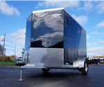 6' x 10 Two-Tone Enclosed Cargo Trailer with 2' Wedge Nose