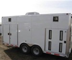 ATC Aluminum Mobile Tank Carrier Custom Trailer