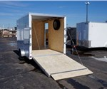 Custom 7' Wide Cargo Trailer