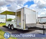 8.5'x16' MTI Concession Trailer - Recent Example