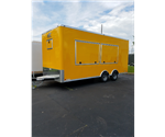Custom Yellow 8.5' x 20' Cargo Trailer