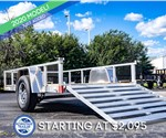 Formula Ghost 5'x10' Open Utility Trailer