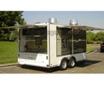 ATC Aluminum Mobile Kitchen Concession Trailer