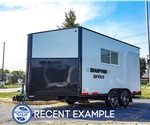 17-Foot Diamond Mobile Office Trailer - Recent Example
