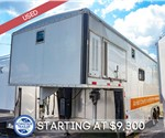 USED 28' Gooseneck Workshop Trailer