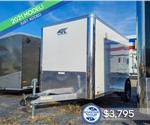6'x10' ATC Cargo Trailer with Rear Cargo Doors