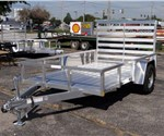 Open 6' x 10' All Alumnum Utility Trailer by ATC – Aluminum Trailer Company