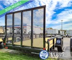 6'x12' Tube Top Utility Trailer - Sure-Trac