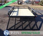 6'x12' Tube Top Utility Trailer