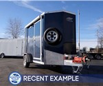 6' x 12' Mobile Pump Showroom Trailer