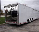 Custom 46' Gooseneck Racing Trailer