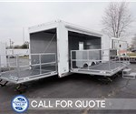 24' Experiential Marketing Trailer with 15' Fold Out Stage Door
