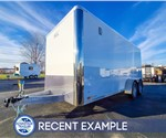 7'x16' ATC Cargo Trailer with Rear Ramp Door - Recent Example