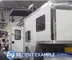 48' ATC Aluminum Living Quarter Trailer