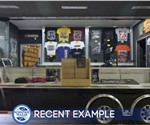 Custom Designed and Built Marketing and Mobile Store Trailer