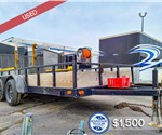 Used 6.5'x14' US Cargo Utility Trailer