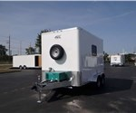 7x12 Aluminum Framed Fiber Optic Splice Trailer - Plus Package