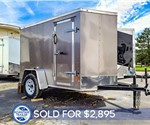 5'x8' Cargo Trailer - MTI - Pewter - Recent Example