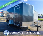 6'x12' Discovery Cargo Trailer (Charcoal)