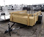 6' x 10' Four Board Side Utility Trailer