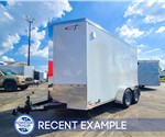 6'x12' Tandem Axle Motorcycle Trailer - Recent Example