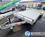 7'x20' Sure-Trac Aluminum Car Hauler