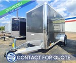 5'x10' ATC Raven Cargo Trailer with Cargo Doors