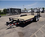 7' x 18' Implement Trailer with Adjustable Pintle