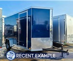 6'x12' Cross Cargo Trailer with Rear Ramp Door - Recent Example