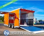 ATC 8.5'x20' Car/Motorcycle Hauler - Orange