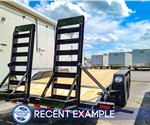 Sure-Trac 7'x18' Implement Trailer - Recent Example