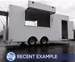 Mobile Retail Trailer for Touring Drum Corps