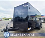 7'x14' Formula Motorcycle Trailer (Blackout) - Recent Example
