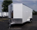 Custom 7' x 16' Enclosed Cargo Trailer